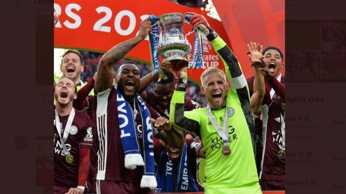 Leicester City cetak sejarah pertamakalinya juara Piala FA. Leicester jadi juara Piala FA 2021 setelah mengalahkan Chelsea 1-0.