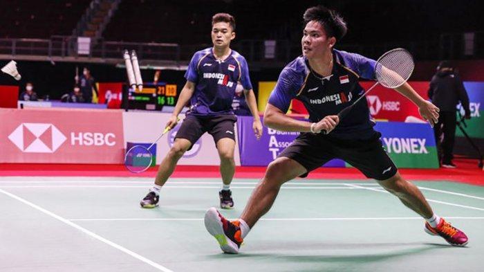 Pasangan ganda putra, Leo/Daniel merebut gelar juara dunia junior pada tahun 2019