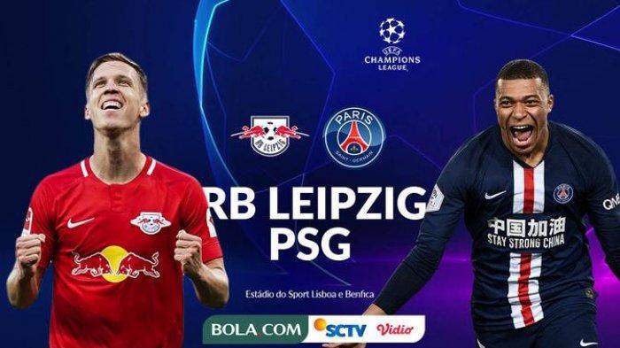 Susunan Pemain RB Leipzig vs PSG di Liga Champions, Mbappe dan Di Maria Kembali Starter