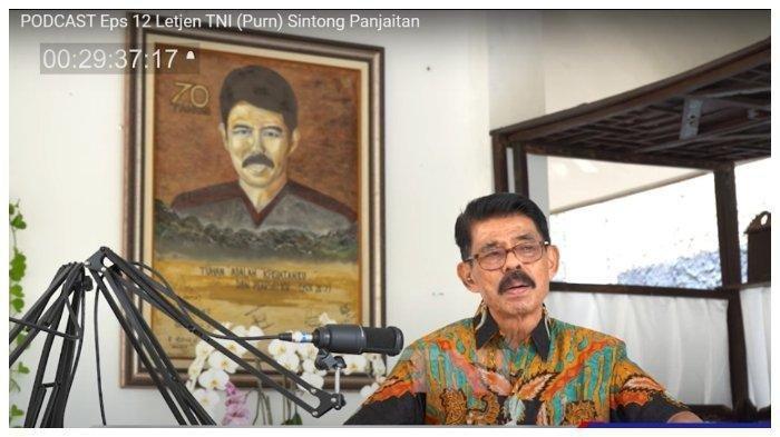 Pelaku Sejarah Semasa G30S, Sintong Panjaitan: Sudah Kapok Itu Komunis di Indonesia