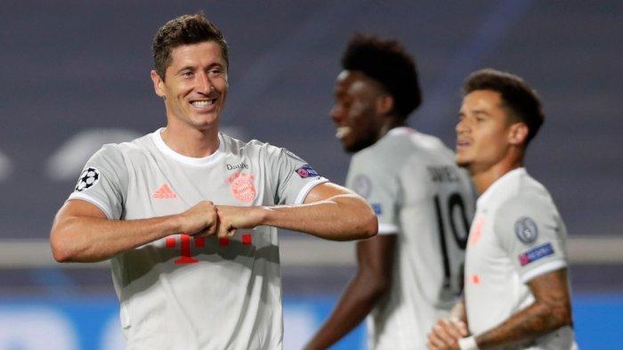 Bayern Muenchen Gunduli Barcelona 8-2, Dua Gol Dicetak Sang Mantan yakni Phillipe Coutinho