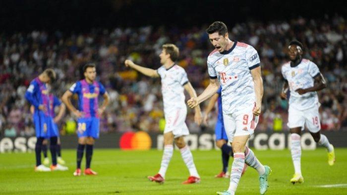 Barcelona Tanpa Lionel Messi Babak Belur, Dihajar Bayern Munich 0-3, Lewandowksi Dua Gol