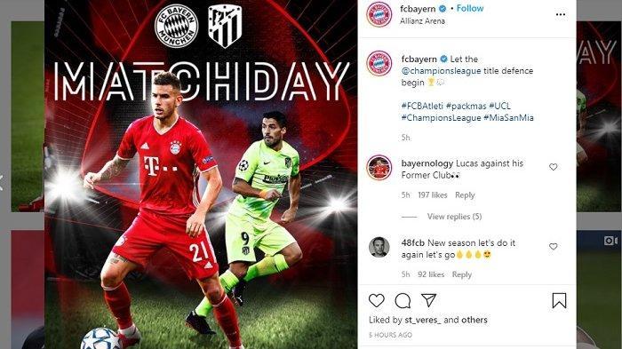 Liga Champions Malam ini,Bayern Munchen vs Atletico Madrid, Berikut Prediksinya