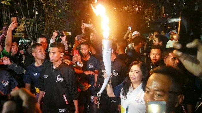 Ini Pertama dan Terakhir Kali Lilies Handayani Bawa Obor Asian Games