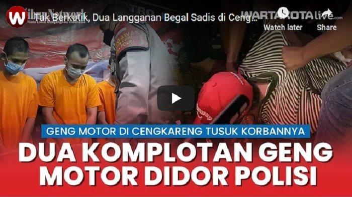 Satu dari Lima Begal Sadis di Cengkareng Mengaku ke Polisi Selalu Bawa Benda Ini Saat Mencari Mangsa