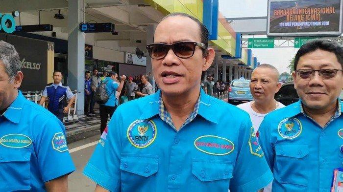 Lima Tersangka dan 33 Kilogram Sabu Sitaan BNN Tiba di Bandara Halim Perdanakusuma