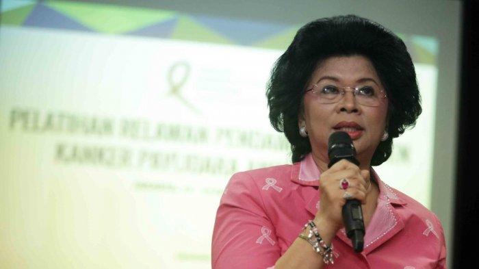 Linda Agum Gumelar Ketua Yayasan Kanker Payudara Indonesia (YKPI)