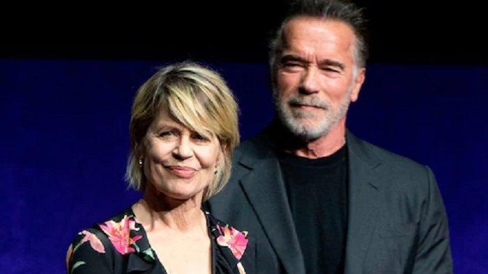 Linda Hamilton Mengaku Senang Syuting Bareng Arnold Schwarzenegger