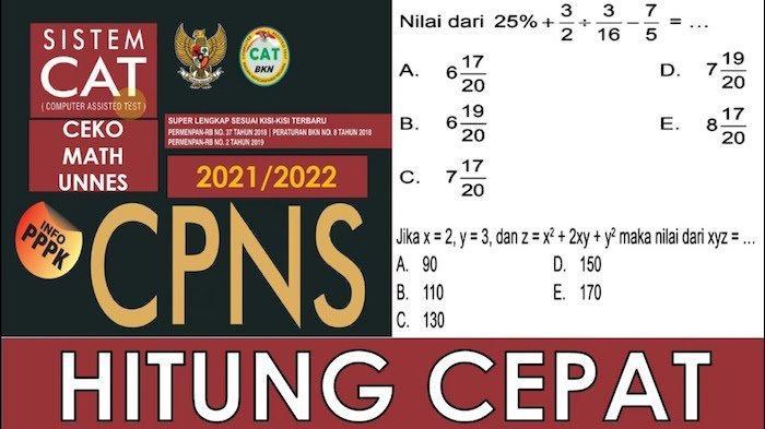 Ini Hal Penting Dalam Latihan Soal Numerik TIU Untuk SKD CPNS 2021