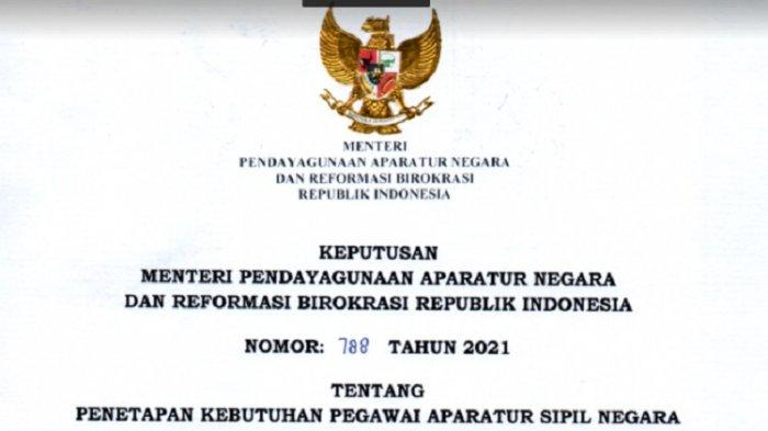 Ini Link Download Formasi Jabatan PPPK dan CPNS 2021 Pemkab Bekasi