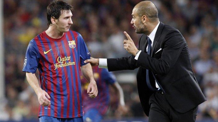 Pep Guardiola pernah bekerjasama bareng Lionel Messi pada tahun 2008-2012