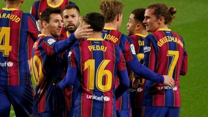Prediksi Line Up dan Live Streaming Barcelona vs Getafe, Koeman Turunkan Messi dan Griezmann Lagi
