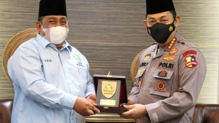 Ilustrasi Kapolri Jenderal Polisi Listyo Sigit Prabowo menerima kunjungan Badan Komunikasi Pemuda Remaja Indonesia (BKPRMI) di Mabes Polri, Senin (22/3/2021).