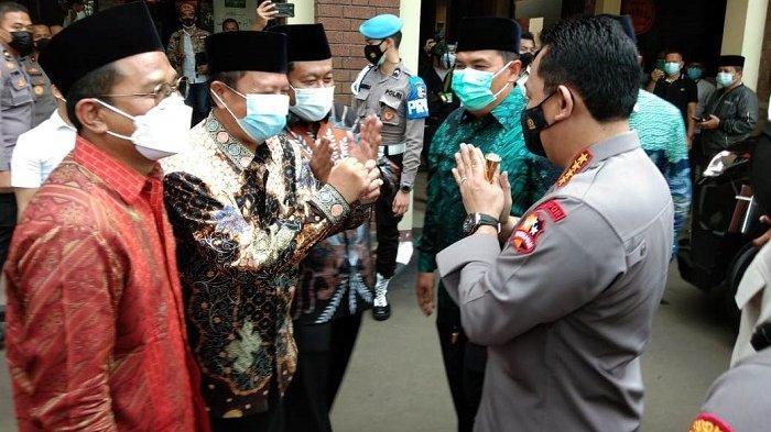 Silaturahmi ke PBNU, Kapolri Ungkap Dirinya Sudah Dianggap Warga Nahdliyin Cabang Nasrani
