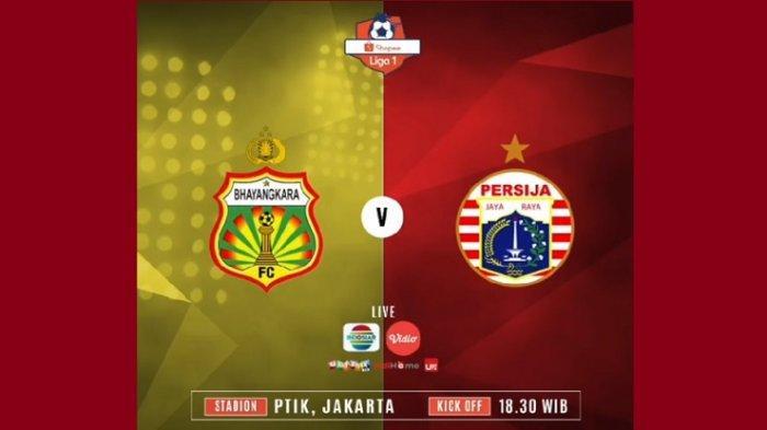 Live Streaming Bhayangkara FC Vs Persija Jakarta, Reuni Bruno Matos dengan Macan Kemayoran