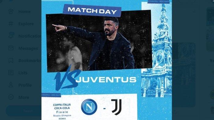 Live Streaming Final Coppa Italia Juventus Vs Napoli Ini Prediksi Susunan Pemainnya Warta Kota