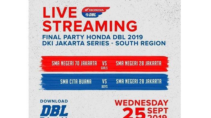 SMAN 28 Jakarta Kawinkan Gelar Honda DBL 2019 DKI Jakarta Series-South Region