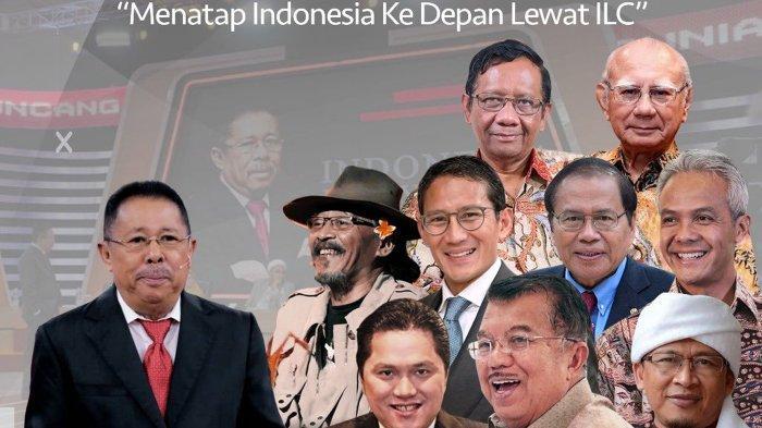Live Streaming ILC Malam Ini, Edisi Khusus Ulang Tahun Bertema Menatap Indonesia ke Depan Lewat ILC