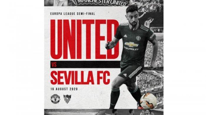 Live Streaming Liga Europa Babak Semifinal Sevilla Vs Manchester United, Main Jumat Dinihari Ini