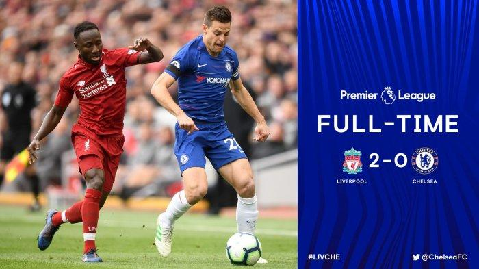 Hasil Akhir Livepool vs Chelsea 2-0: Reds Depak Lagi City dari Singgasana Puncak Klasemen