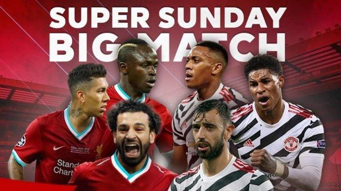 Liverpool vs Manchester United Memburu Tahta Teratas Liga Inggris, Disiarkan Langsung di NET