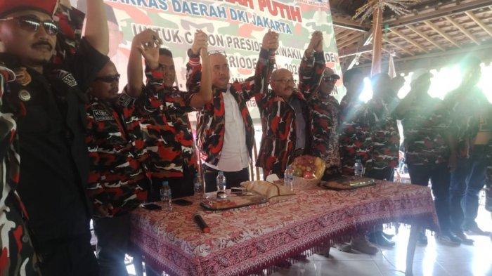 Laskar Merah Putih Deklarasi Dukung Jokowi-Ma'ruf