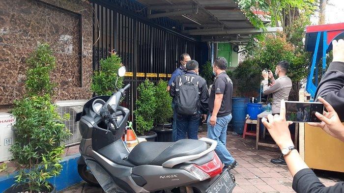 Lokasi Kafe RM tempat penembakan di Cengkareng, Jakarta Barat, Kamis (25/2/2021).