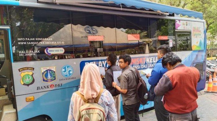 Lokasi SIM Keliling di Jakarta dan Lokasi Gerai Samsat di Jadetabek Kamis 19 Maret 2020