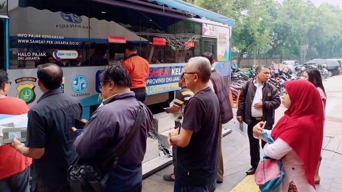Lokasi SIM Keliling di Jakarta dan Lokasi Gerai Samsat di Jadetabek Kamis 16 Januari 2020