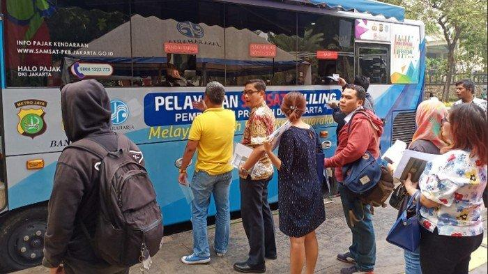 Lokasi SIM Keliling di Jakarta dan Lokasi Gerai Samsat di Jadetabek Sabtu 9 November 2019