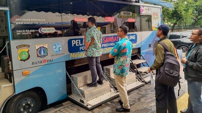 Lokasi SIM Keliling di Jakarta dan Lokasi Gerai Samsat di Jadetabek Kamis 23 Januari 2020