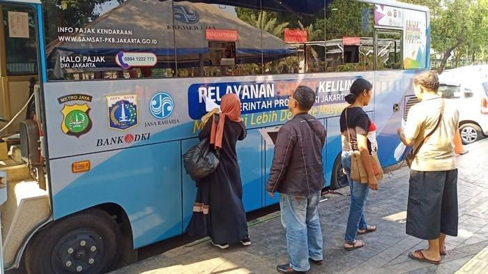 Lokasi SIM Keliling di Jakarta dan Lokasi Gerai Samsat di Jadetabek Senin 18 November 2019