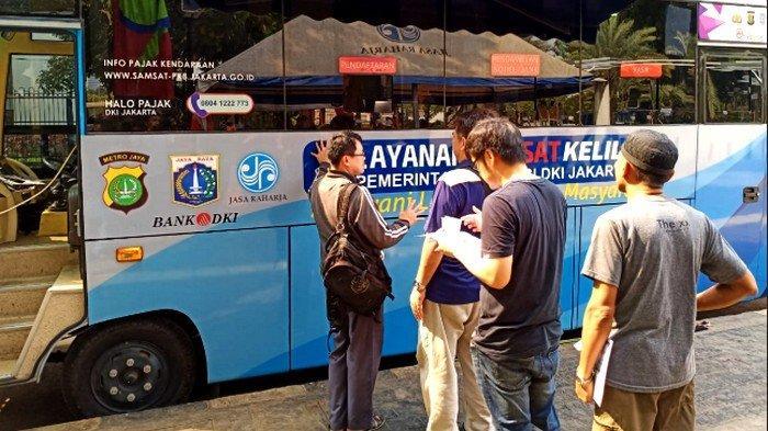 Lokasi SIM Keliling di Jakarta dan Lokasi Gerai Samsat di Jadetabek Selasa 10 Desember 2019