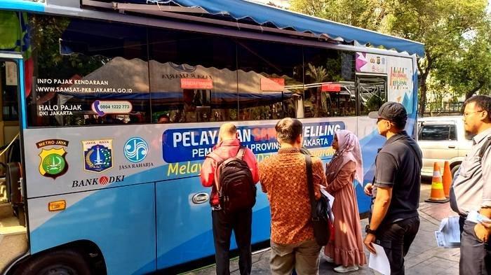 Lokasi SIM Keliling di Jakarta dan Lokasi Gerai Samsat di Jadetabek Sabtu 11 Januari 2020