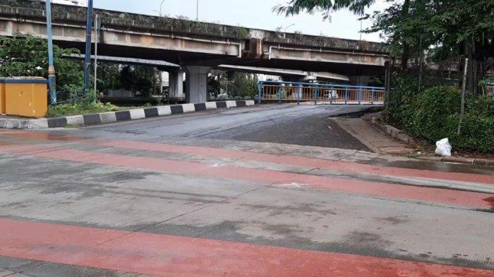 Warga Menduga Penyebab Tabrakan Bus TransJakarta dan Bajaj  karena Tidak Ada Petugas