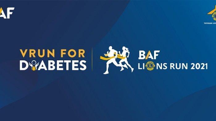 Digelar di Masa Pandemi Covid-19, BAF Lions Run 2021 VRun for Diabetes Dilaksanakan Secara Virtual