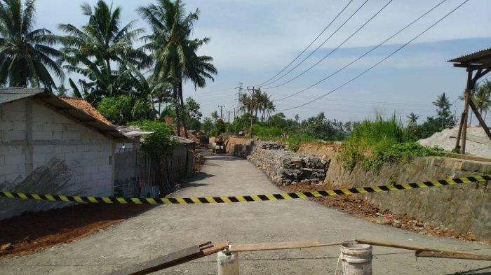 Pemkab Tangerang Bangun Akses Alternatif karena Jalan Longsor di Teluknaga