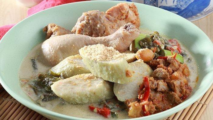 Lontong Cap Go Meh hidangan khas