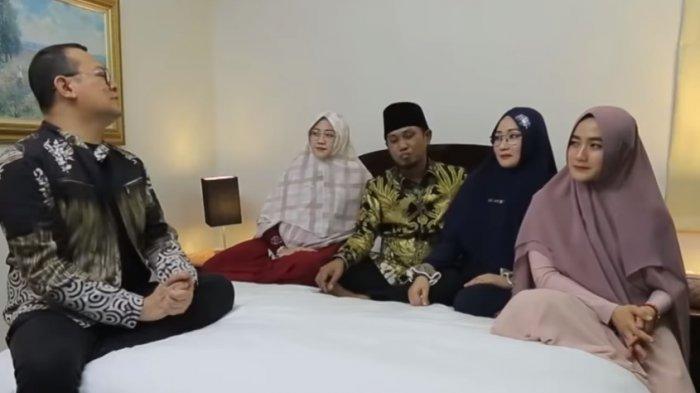 Lora Fadil dan 3 Istrinya Tak Canggung Berbagi Cerita Posisi Tidur di Ranjang Saat Mereka Bersama