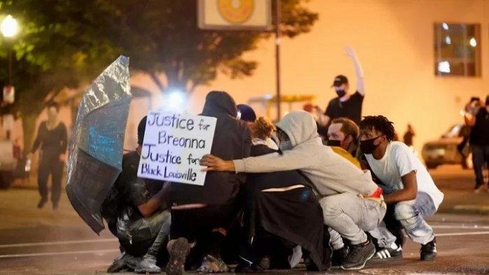 INSIDEN Penembakan di Louisville AS,Satu Meninggal Dunia, Satu Terluka