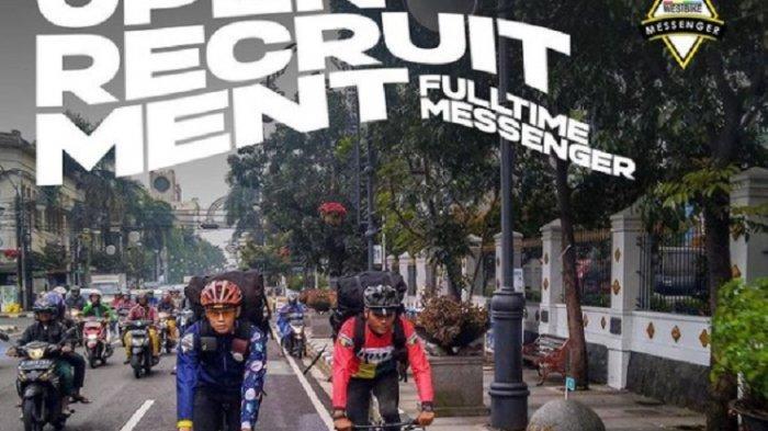 Kalian Suka GOWES dan Belum Kerja, Nih Ada LOWONGAN Kerja KURIR Sepeda FULL TIME di JAKARTA