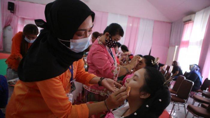 20 Warga Binaan Perempuan LPP Kelas IIA Tangerang Dibekali Keterampilan Tata Rias Kecantikan