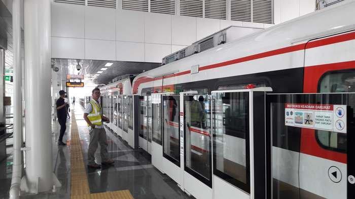 Tunggu Arahan Pemprov DKI untuk Berperasi, LRT Optimis Angkut 14.225 Penumpang Perhari