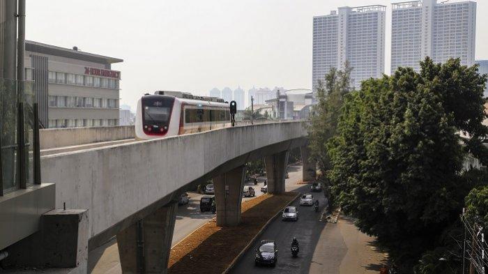 TransJakarta, MRT, dan LRT Menuju Integrasi Transportasi Jak Lingko - lrt90348u9igfojdfghkdfjhgkdf.jpg