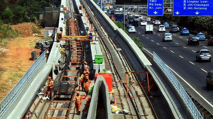 Proyek LRT Dikebut agar Bisa Segera Digunakan