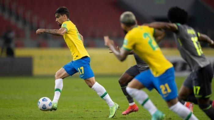 Brasil Raih Nilai Sempurna Usai Kalahkan Ekuador 2-0 Gol Neymar dan Richarlison, Ini Klasemennya