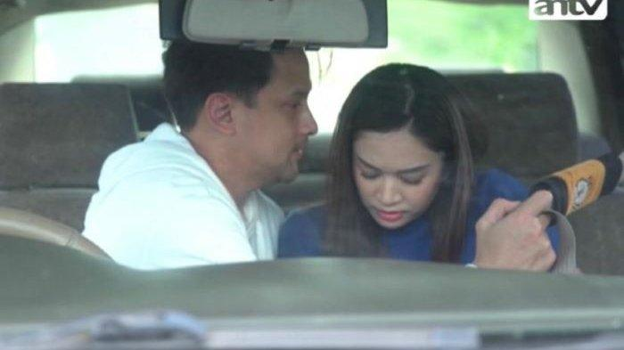 Lucky Perdana dan Faradilla Yoshi saat syuting Berbagi Suami the Series tayangan ANTV.