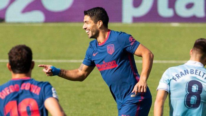 Luis Suarez Ciptakan Rekor 150 Gol Di La Liga dan Bawa Menang Atletico Madrid Ke 200