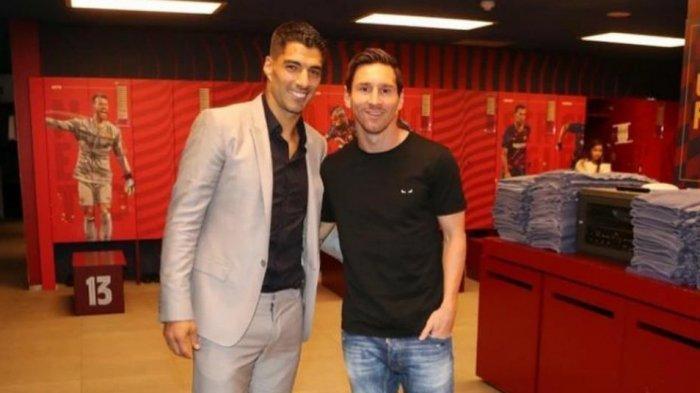 Jelang Duel Di La Liga, Lionel Messi Dan Luis Suarez Tidak Membicarakan Soal Sepak Bola