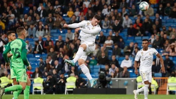 Luka Jovic Akhiri 312 Menit Tanpa Gol Saat Real Madrid Menang 5-0 Atas Leganes, Madrid Tempel Barca